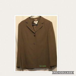 Woman's Talbots Jacket Sz 12